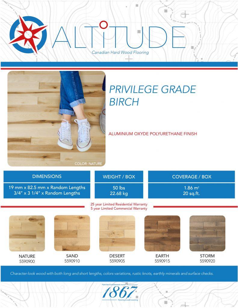 altitude hardwood floor 1867-tech sheet