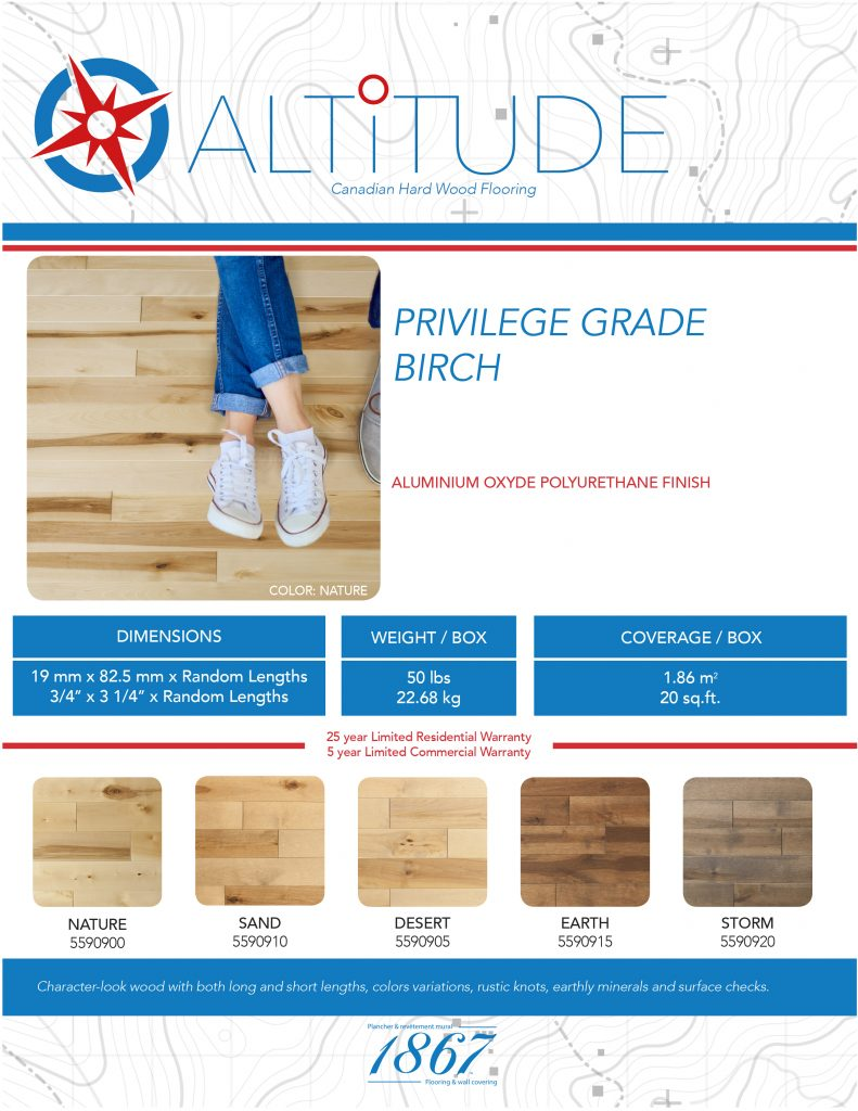altitude hardwood floor 1867-tech sheet