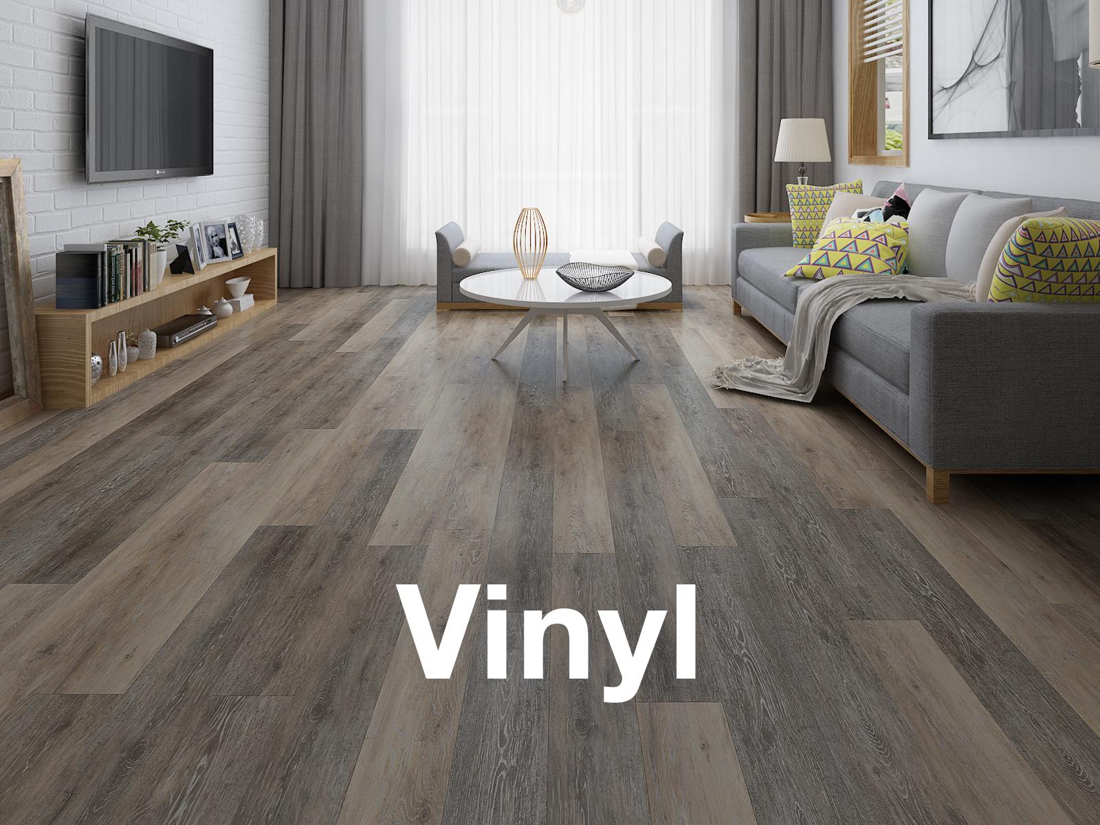 Hardwood, laminate, vinyl